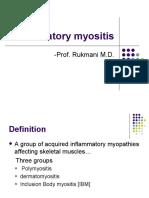 Inflammatory Myositis