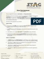 Club Agreement - Silver