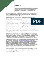 Articulo - Venezuela, República Federal (v)