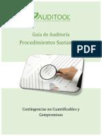 GuÝa Procedimientos Sustantivos para Contingencias no Cuantificables y Compromisos
