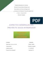 Proyecto socio integrador - Aspectos fundamentales