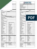 Check List - Alistamiento de PC