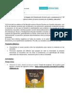 Actividad Primer Ciclo 30 de abril Día Internacional contra el acoso escolar en el ámbito educativo
