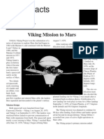 NASA Facts Viking Mission to Mars