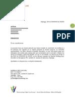 42.- CARTA DE CITACION PARA FIRMAR ANEXOS