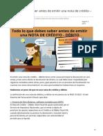 boliviaimpuestos.com-Lo que debes saber antes de emitir una nota de crédito  débito