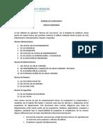 NORMAS DE CONVIVENCIA - EDIFICIO AMAZONAS