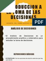 INTRODUCCION A LA TOMA DE LAS DECISIONES 2018.pptx
