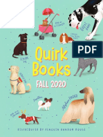 Quirk Books Fall '20 Catalog