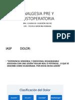 ANALGESIA PRE Y POSTOPERATORIA CLASE.pdf