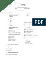 Taller de matematica ciclo 4