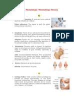 Glosario de Fisioterapia