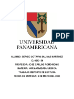 REPORTE DE LECTURA SINDICATOS