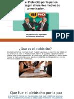 El Post Del Plebiscito Por La Paz En