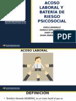 riego psicosocial ACOSO LABORAL Y BATERIA DE RIESGO PSICOSOCIAL