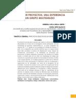 TRABAJO POR PROYECTOS. UNA EXPERIENCIA EN UN GRUPO MULTIGRADO.pdf