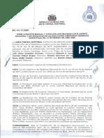 001-2020 RESOLUCIÓN SOBRE VOTACIÓN MANUAL Y VOTACIÓN AUTOMATIZADA DN Y MUNICIPIOS ELECCIONES MUNICIPALES 16 DE FEBRERO 2020