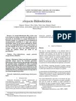 Proyecto hidroelectrica