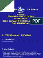 5.Permendiknas No. 19 Tahun 2007,18022008