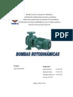 Bombas Rotodinamicas