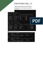 LABORATORIO SQL_12