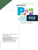 Montessori. Pas à Pas. L'écriture, la lecture et le français by Dorance S., Toinet V. (z-lib.org).pdf