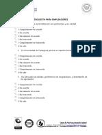 Encuesta Empleadores Universidad de Cartagena