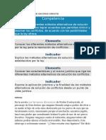 METODOS ALTERNATIVOS DE SOLUCION DE CONFLICTOS