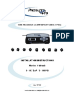 Pressure Pro Manual 6 Wheel Monitor