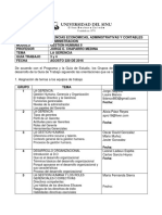 Guía 3 y 4 Módulo GH II (agosto 22 de 2016) Profesor Jorge E. Chaparro Medina