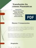 Fracciones Plasmáticas Hasta Recambio
