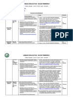 Plan de Contingencia Para Bachillerato 9NA. SEMANA