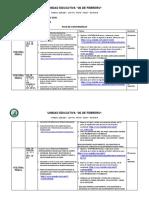 Plan de Contingencia Para Bachillerato 3RA. SEMANA