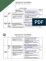 Plan de Contingencia Para Bachillerato 4TA. SEMANA