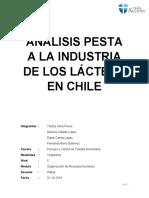 ANÁLISIS PESTA A LA INDUSTRIA DE LOS LÁCTEOS EN CHILE