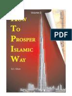 How to Prosper the Islamic Way (Vol.-2)