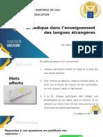 10. Le ludique dans l'enseignement des langues étrangères