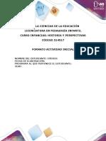 Formato actividad inicial  INFANCIAS -1