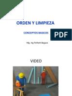 ORDEN Y LIMPIEZA 5s