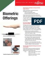 Biometric Offerings