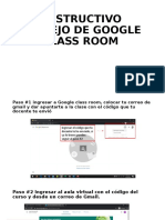 INSTRUCTIVO MANEJO DE GOOGLE CLASS ROOM.pptx