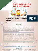 Como ayudar a los niños a estudiar