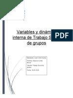 Variables y dinámica interna de Trabajo Social de grupos