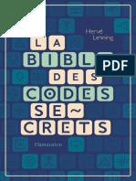 codes secrets.epub