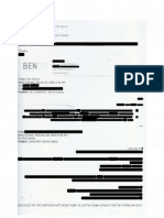 E-Mail Provided by Ben Birnbaum Connecting Washington Times to Tel-Aviv Document Heist