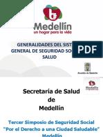 Generalidades del SGSSS - Dr Jaime Gañán
