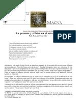 J. Pérez-Soba, La Persona y El Bien en El Acto Moral