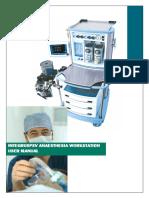 Ulco Integrus PSV Anaesthesia Workstation - User manual
