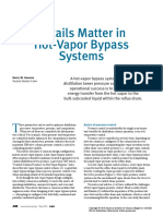 Details Matter in Hot Vapour Bypass System -CEP Article May 2020