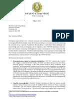 Letter to Abbott regarding El Paso County Exemption